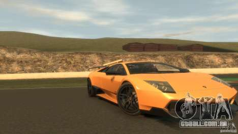 Lamborghini Murcielago VS LP 670 FINAL para GTA 4 esquerda vista