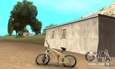 Specialized P.3 Mountain Bike v 0.8 para GTA San Andreas esquerda vista