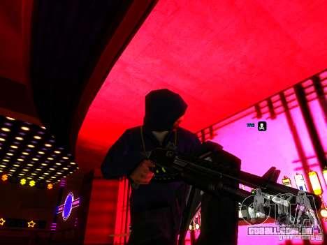 New Weapons para GTA San Andreas por diante tela