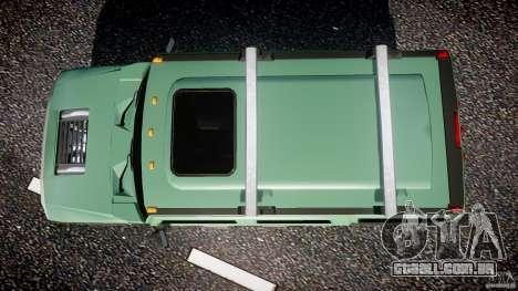 Hummer H2 para GTA 4 vista direita