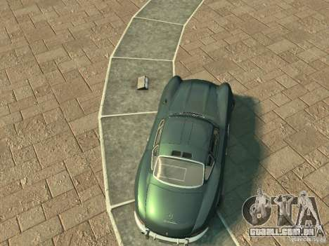 Mercedes-Benz 300SL Gullwing para GTA 4 vista direita