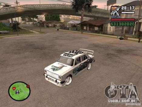 2101 Vaz carro tuning para GTA San Andreas