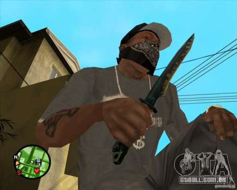 Faca do Counter-strike para GTA San Andreas