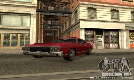 Sabre Drift para vista lateral GTA San Andreas