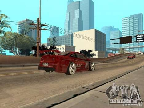 Chevrolet Cobalt SS Shift Tuning para GTA San Andreas vista direita