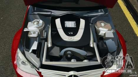 Mercedes-Benz C350 Avantgarde v2.0 para GTA 4 vista superior