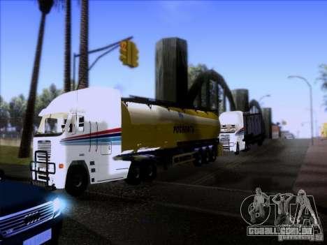Freightliner Argosy Skin 3 para GTA San Andreas vista interior