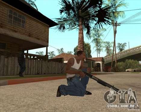 CoD:MW2 weapon pack para GTA San Andreas segunda tela
