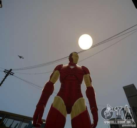 Iron Man Mk3 Suit para GTA 4 segundo screenshot