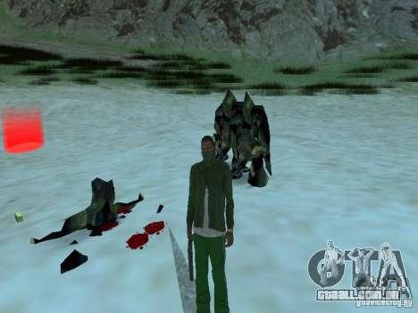 Monstros debaixo d'água para GTA San Andreas sétima tela