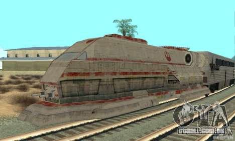 Um trem bom, Star Wars para GTA San Andreas