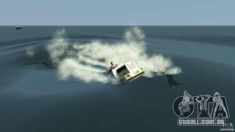 Airtug boat para GTA 4 vista superior