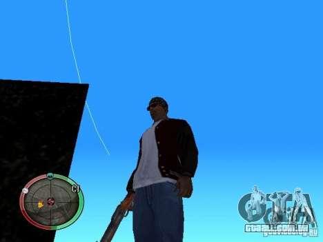 Alterar o estilo de corte e Usi para GTA San Andreas