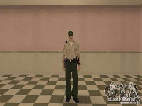 Los Angeles Police Department para GTA San Andreas quinto tela