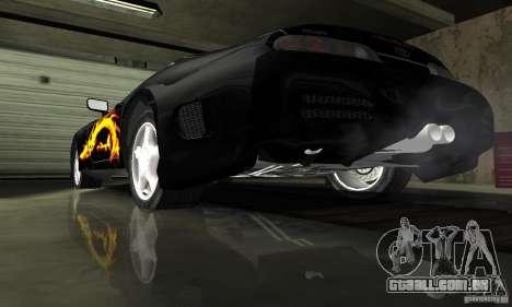 Toyota Supra Tuneable para GTA San Andreas vista superior