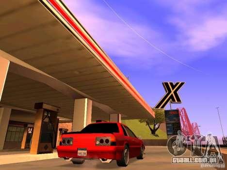 Previon GT para GTA San Andreas esquerda vista