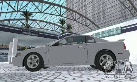 Ford Mustang GT 2003 para GTA San Andreas vista direita