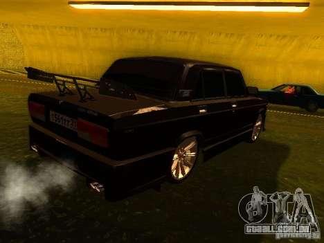 VAZ 2107 X-estilo para GTA San Andreas vista direita