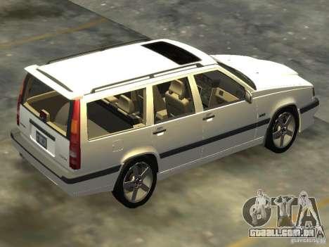 Volvo 850 R 1996 Rims 2 para GTA 4 esquerda vista