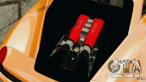 Ferrari 458 Italia 2010 v3.0 para GTA 4 vista de volta