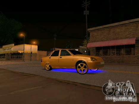 LADA 2170 Priora Gold Edition para GTA San Andreas