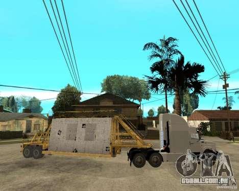 Patch reboque v_1 para GTA San Andreas vista interior