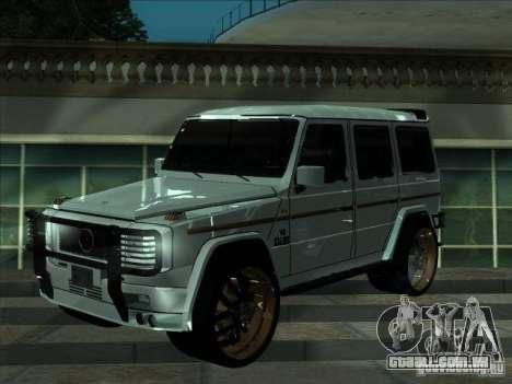 Série ENB para placa de vídeo fraca para GTA San Andreas terceira tela