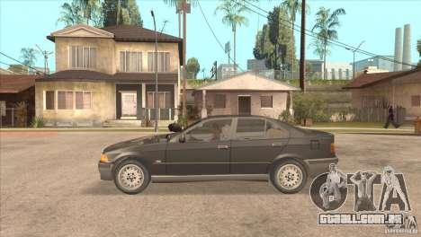 BMW 316i E36 para GTA San Andreas esquerda vista