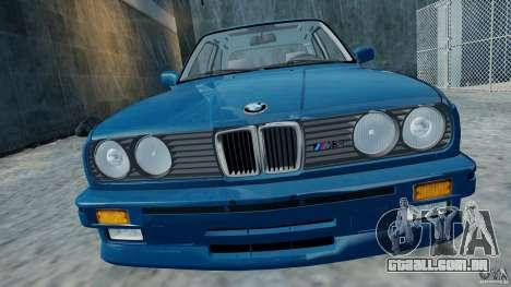 BMW M3 E30 FINAL para GTA 4 traseira esquerda vista
