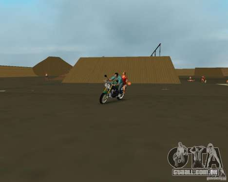 Triumph Speed Triple para GTA Vice City vista direita