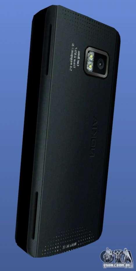 Telemóvel Nokia X6 para GTA 4 segundo screenshot