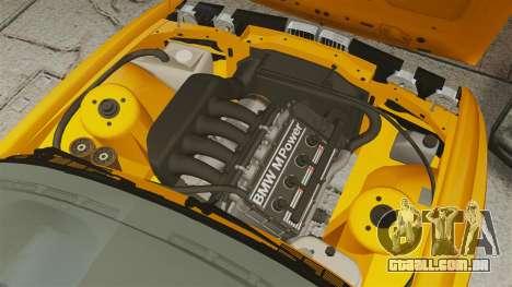 BMW M3 E30 v2.0 para GTA 4 vista interior