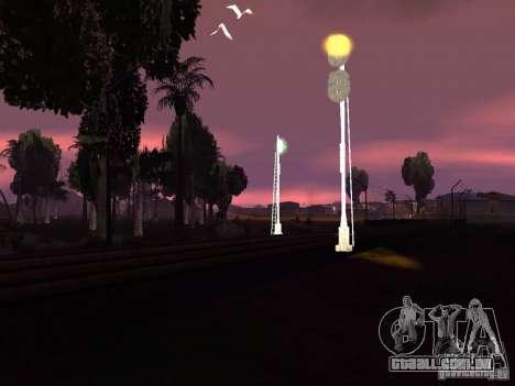 Luzes de tráfego ferroviário 2 para GTA San Andreas sexta tela