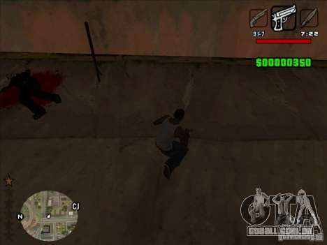 HUD by Alex para GTA San Andreas terceira tela