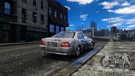 Nissan Laurel GC35 Itasha para GTA 4 esquerda vista