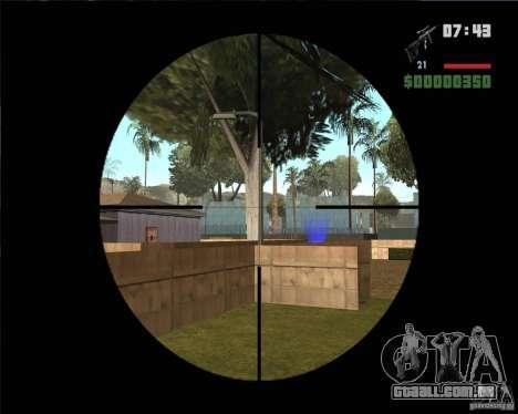 SVD para GTA San Andreas terceira tela