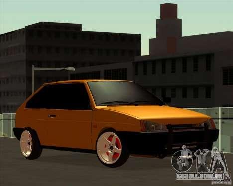 VAZ 2108 (versão com discos brancos) para GTA San Andreas