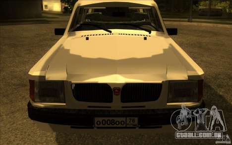 GAZ Volga 311021 para GTA San Andreas vista direita