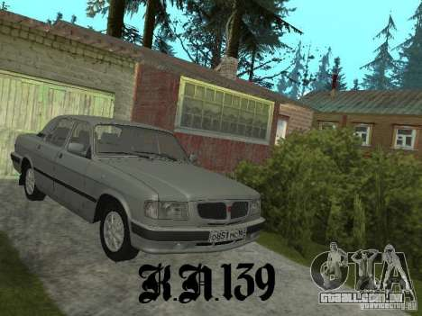 Gaz 3110 beta 0.1 para GTA San Andreas