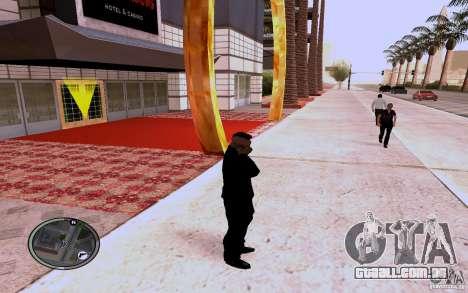 HTC Sensation para GTA San Andreas terceira tela