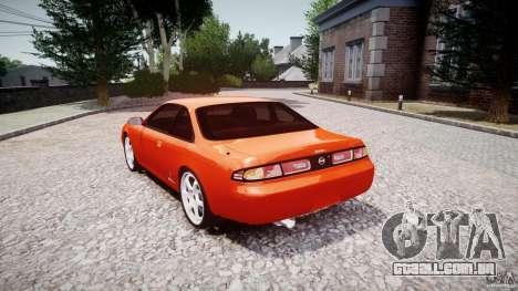 Nissan Silvia Ks 14 1994 v1.0 para GTA 4 vista lateral