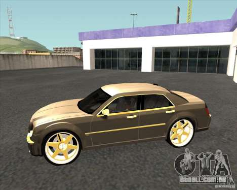 Chrysler 300C dub edition para GTA San Andreas esquerda vista