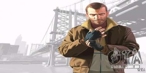 Telas de boot do GTA IV v. 2.0 para GTA San Andreas