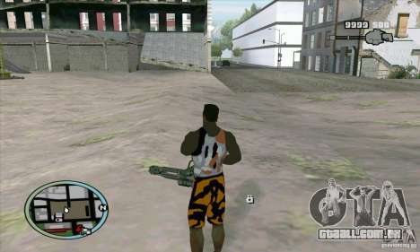 Care Package from MW2 para GTA San Andreas quinto tela