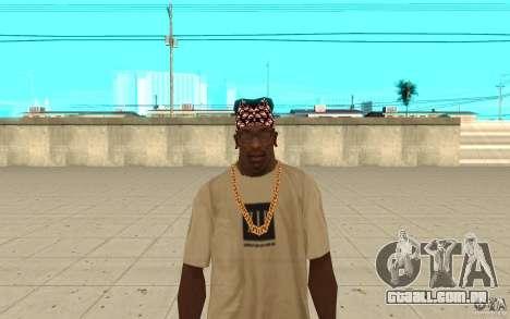 Super-homem bandana para GTA San Andreas