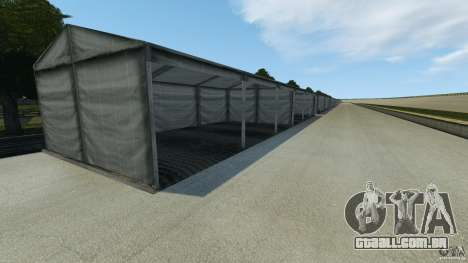 Dakota Raceway [HD] Retexture para GTA 4 terceira tela