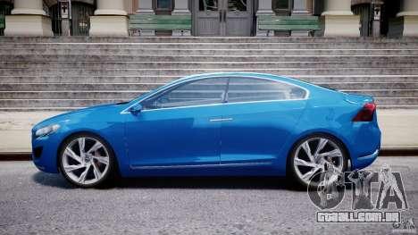 Volvo S60 Concept para GTA 4 esquerda vista