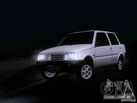 VAZ 1111 Oka Sedan para GTA San Andreas traseira esquerda vista