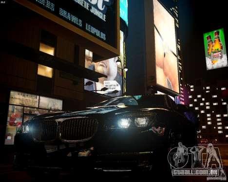 BMW 750Li 2013 para GTA 4 vista de volta