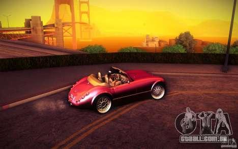 Wiesmann MF3 Roadster para GTA San Andreas vista traseira